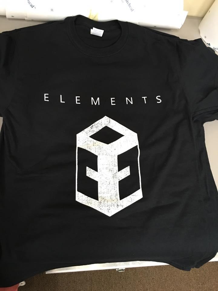 36 custom screen printed t shirts print one color ink 100 for Custom screen print shirt