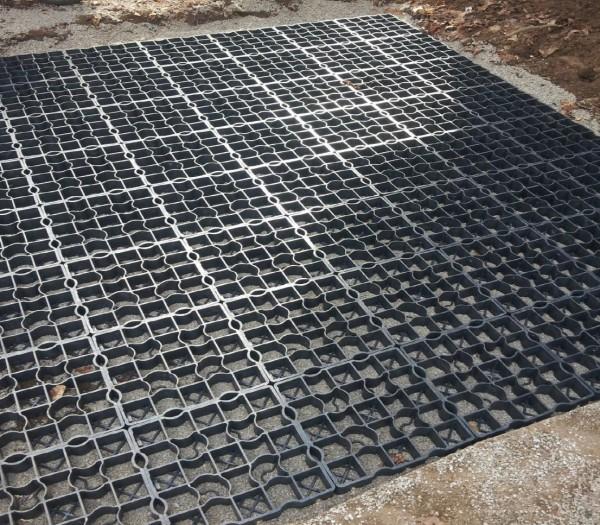 16x Plastic Gravel Grass Paving Driveway Grid Drainage Mat