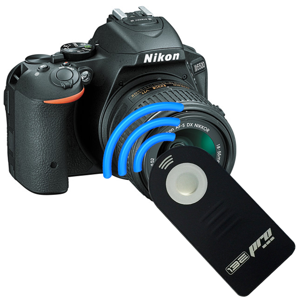 I3ePro IR Wireless Shutter Release Remote Control For DSLR