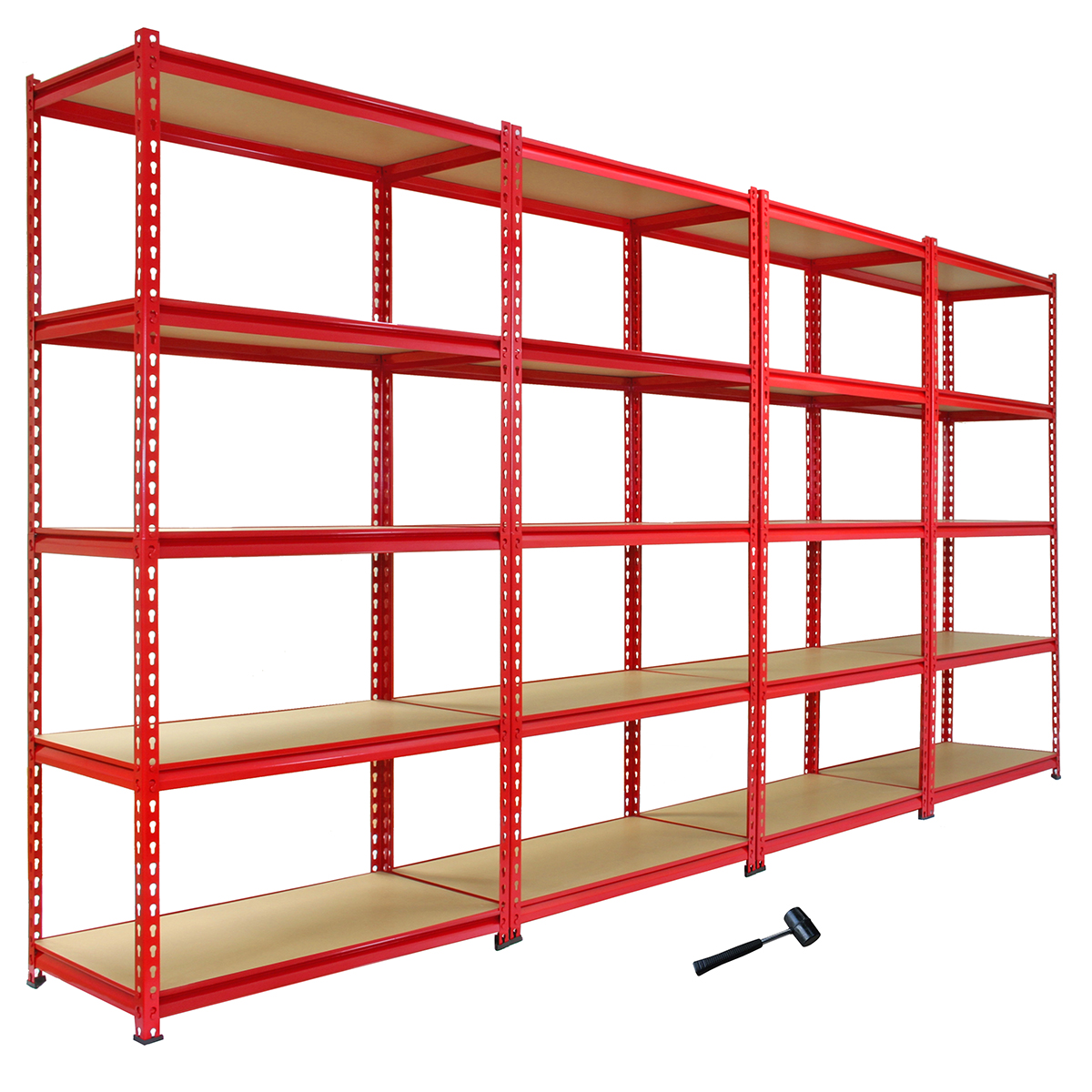 garage racking heavy duty shelving unit storage z racks shelves bays 5 tier 90cm ebay. Black Bedroom Furniture Sets. Home Design Ideas