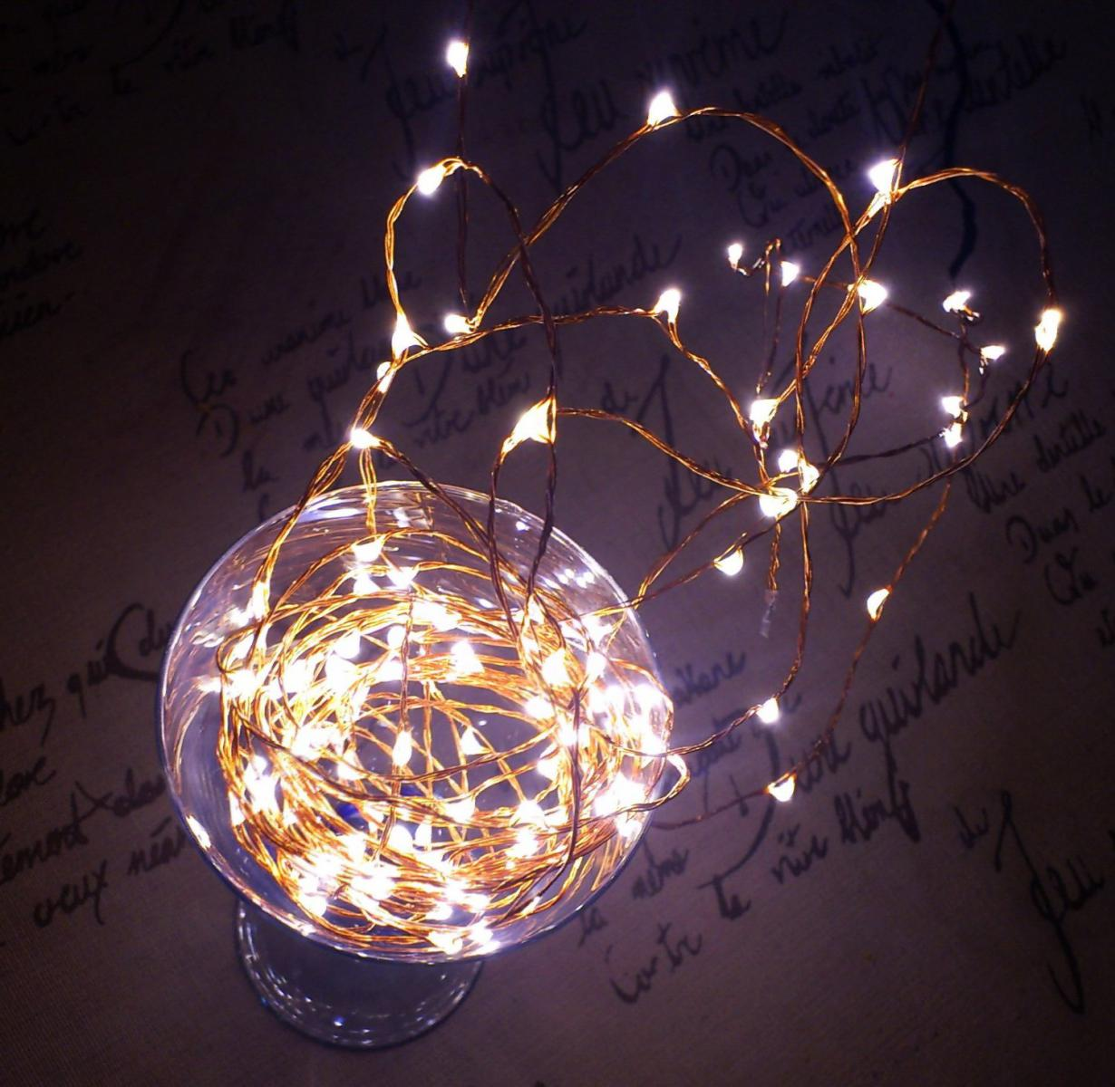 SOFT WARM WHITE CHRISTMAS FAIRY STARRY LIGHTS, EXTRA LONG QUALIZZI STAR LIGHTS eBay