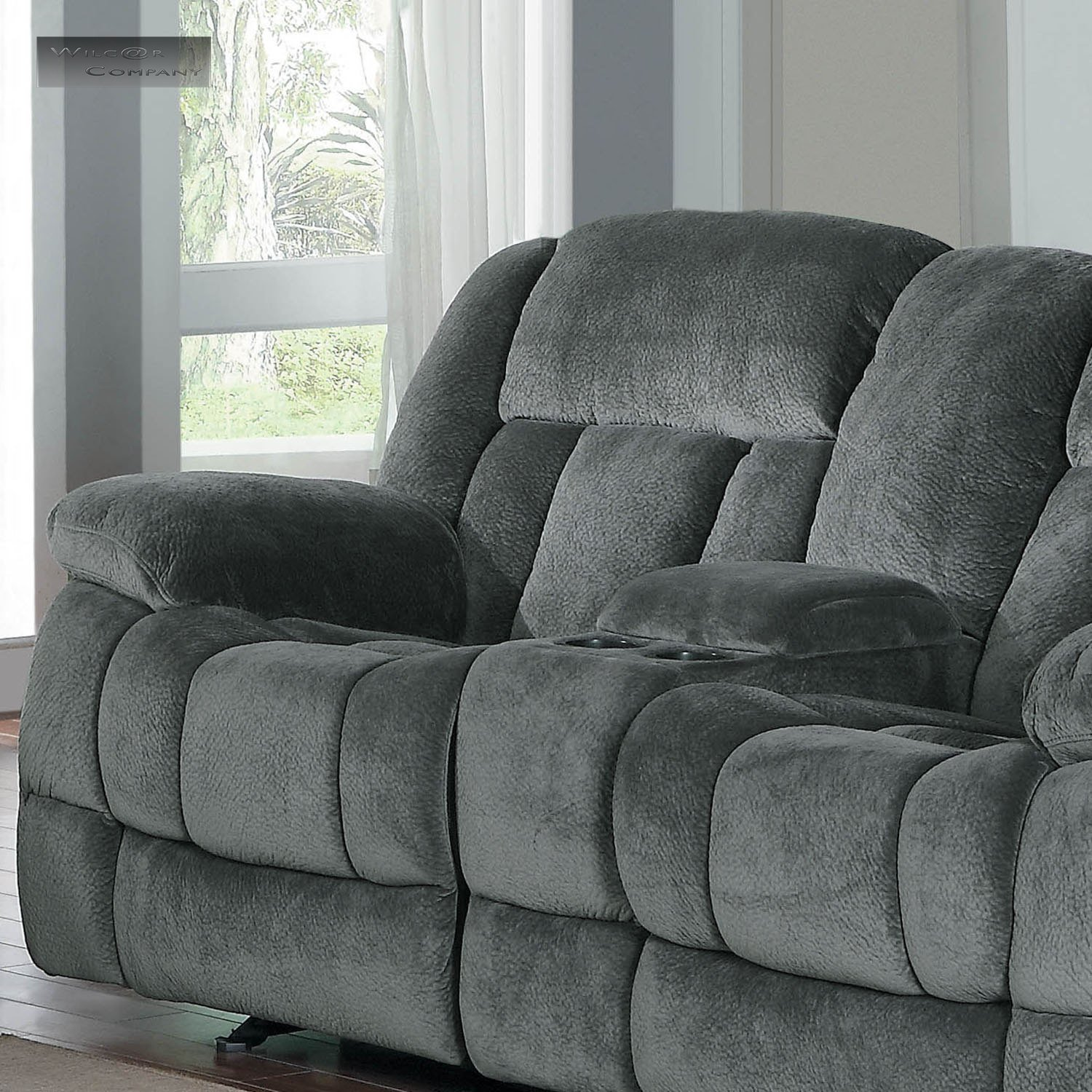 Lazy Boy Loveseat Rocker Recliner New Grey Rocker Glider