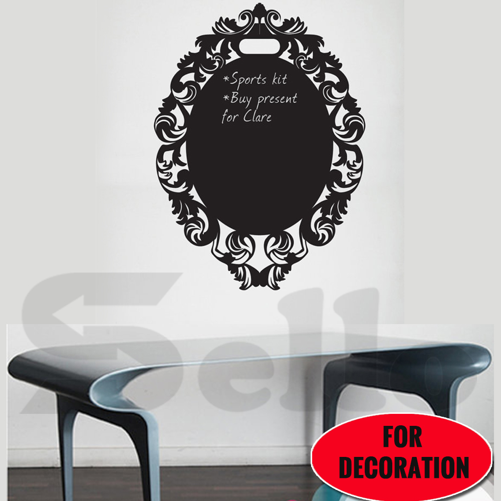 200x60CM Removable Blackboard Wall Vinyl Sticker ...