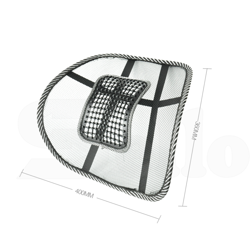 mesh lumbar back brace support cushion for office home car seat chair