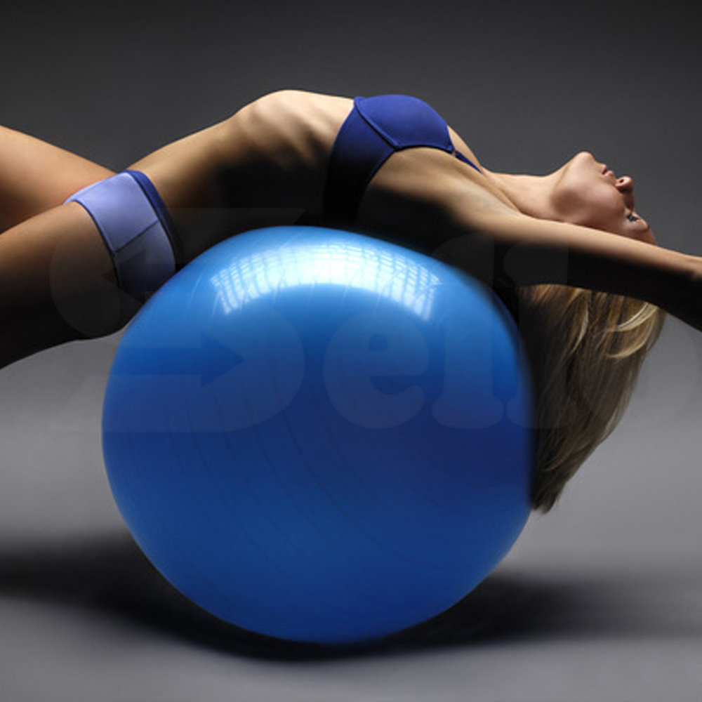 SWISS BALL YOGA HOME GYM EXERCISE BALANCE PILATES EQUIPMENT FITNESS BALL | eBay