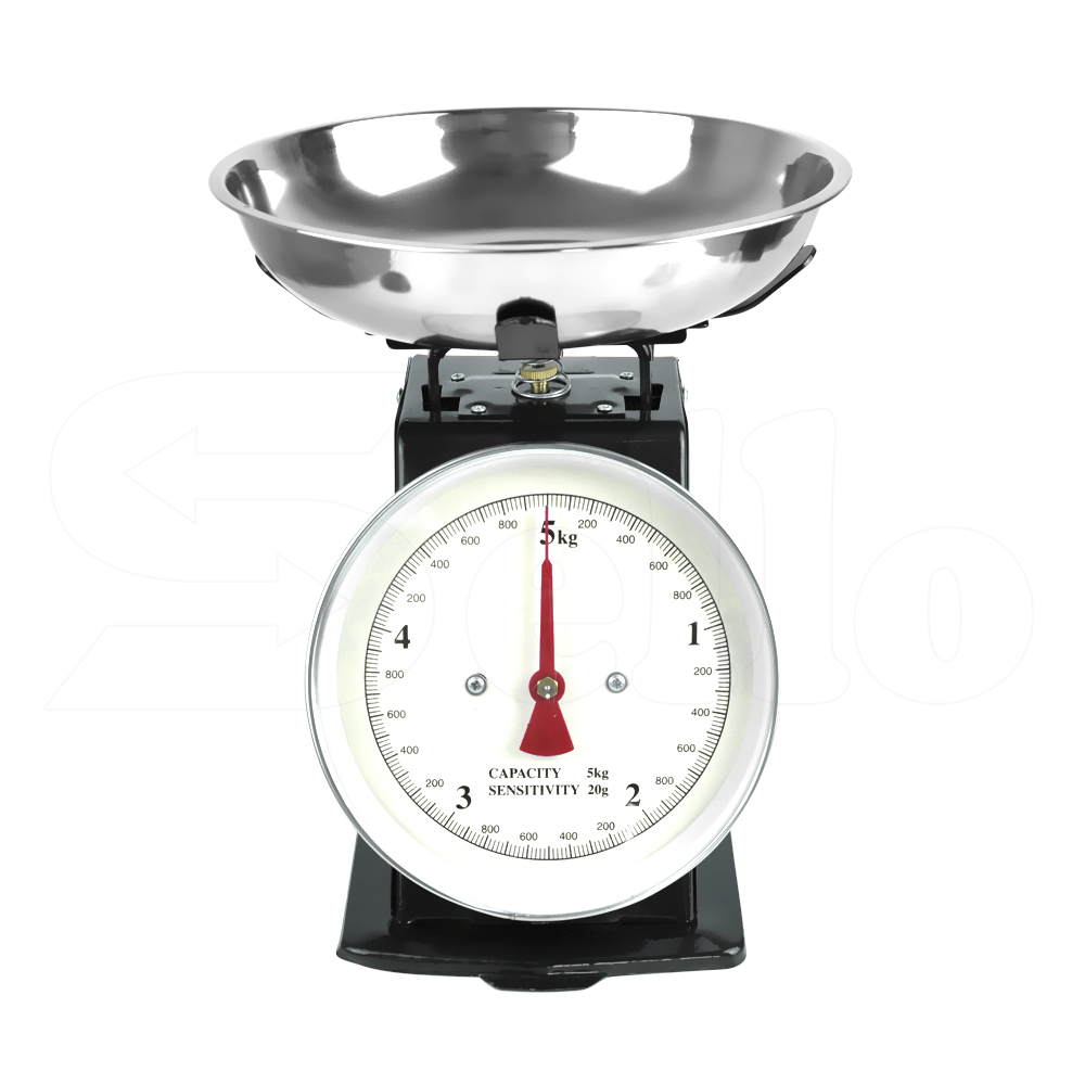 Traditional weighing kitchen scale bowl retro scales for Traditional kitchen scales