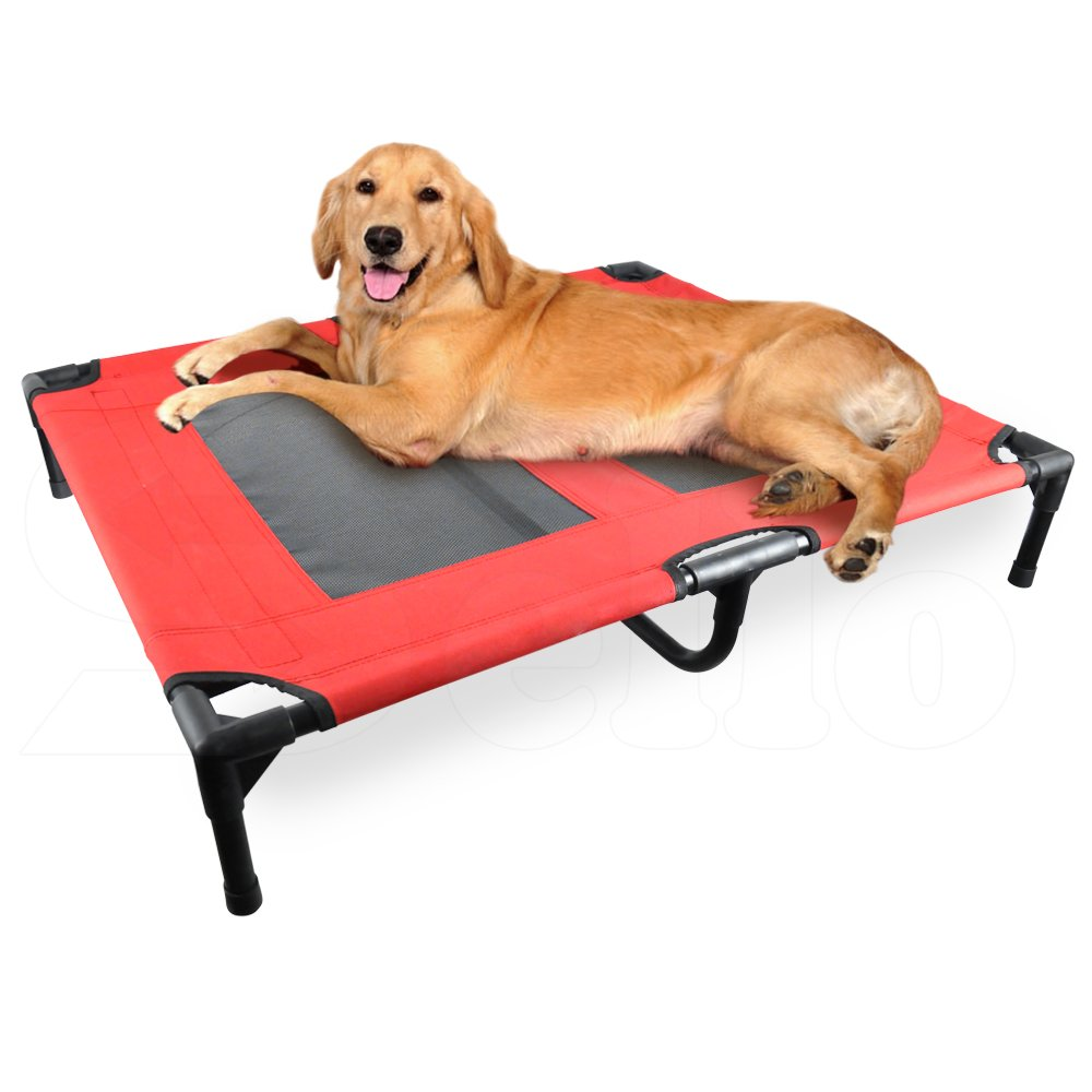 Heavy Duty Pet Dog Bed Trampoline Hammock Canvas Cat Puppy