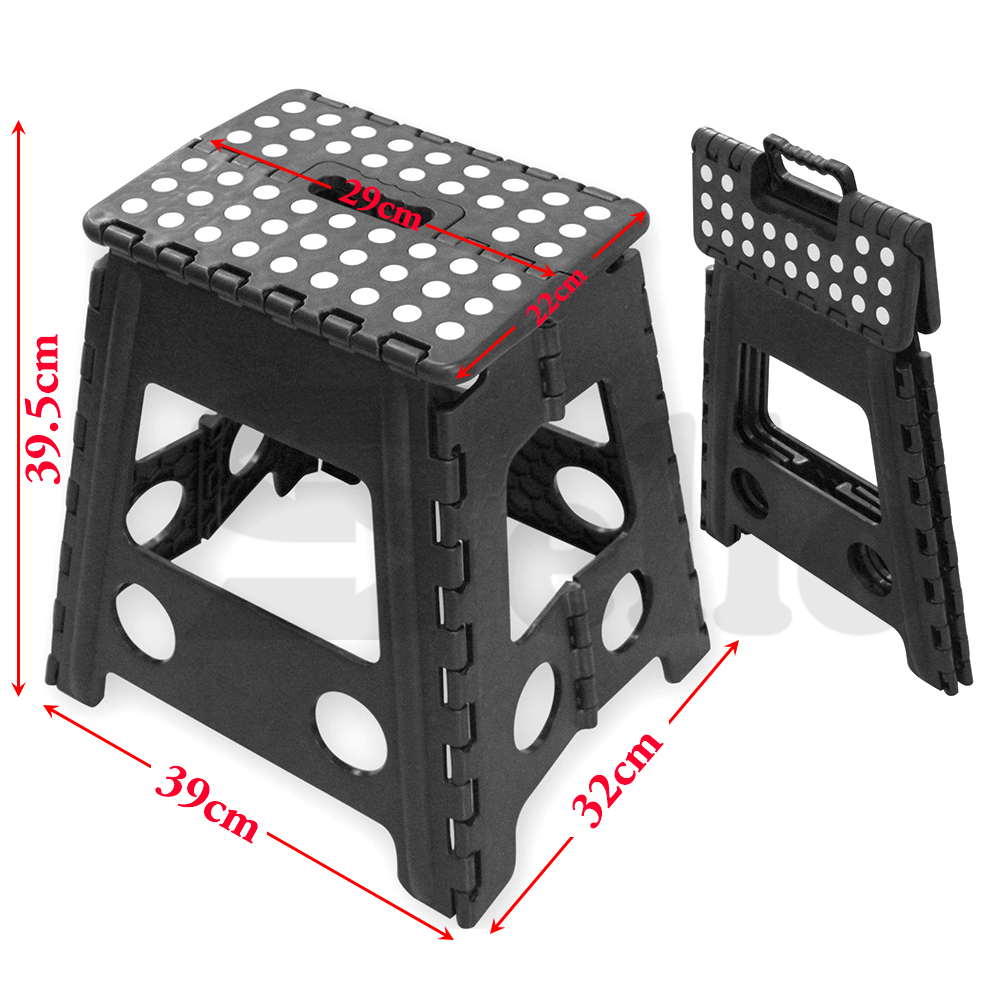 Folding Step Stool Portable Plastic Foldable Chair Store