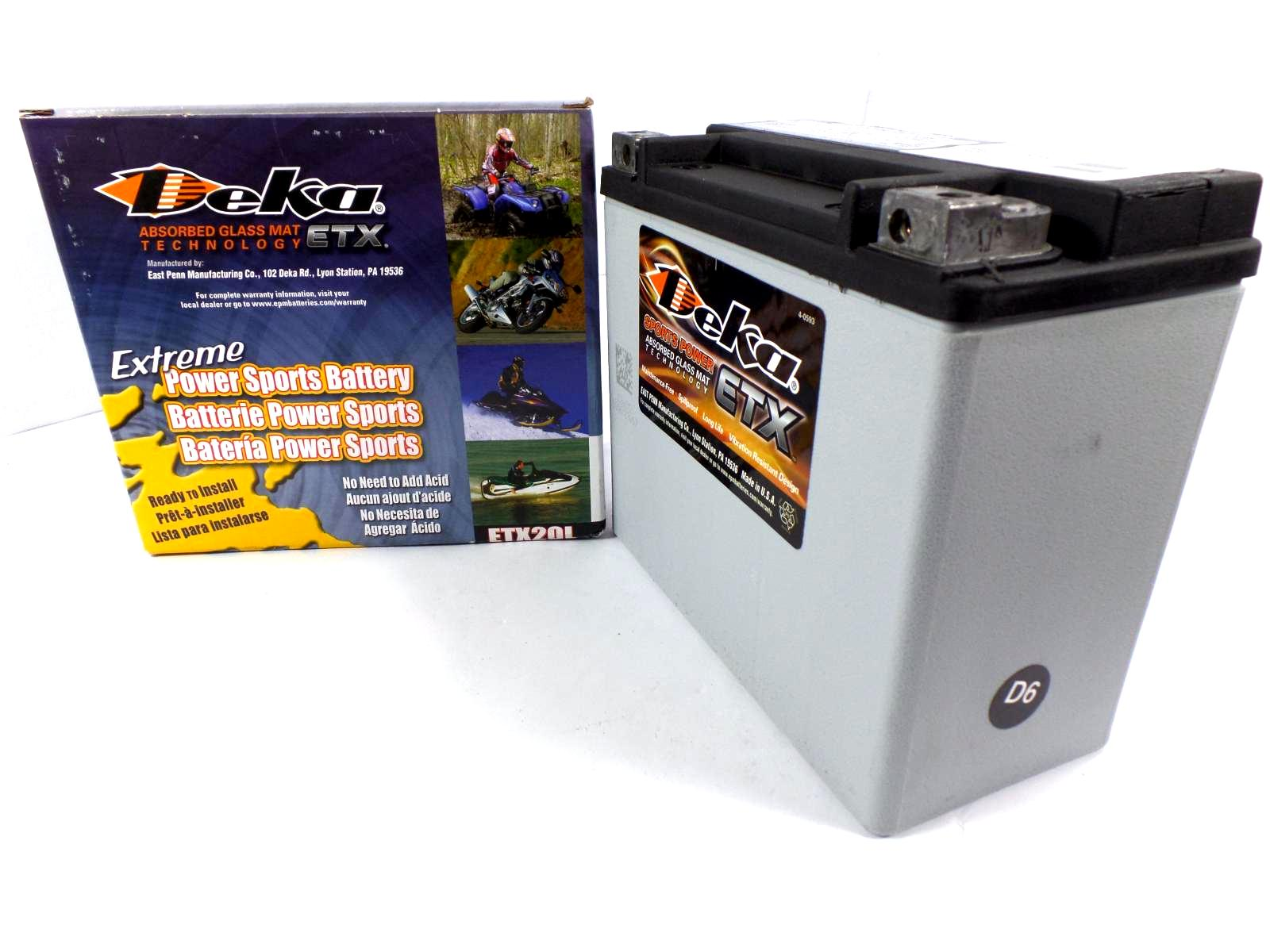 deka motorcycle battery etx12 etx14 etx15 etx16 etx16l etx18l ext20l etx30l ebay. Black Bedroom Furniture Sets. Home Design Ideas