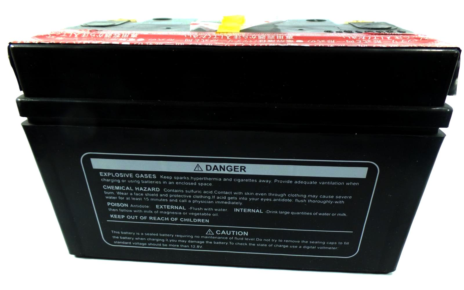 AGM BATTERY REPLACEMENT CTZ7S PT9B 4 YTX9L BS YTX9 BS
