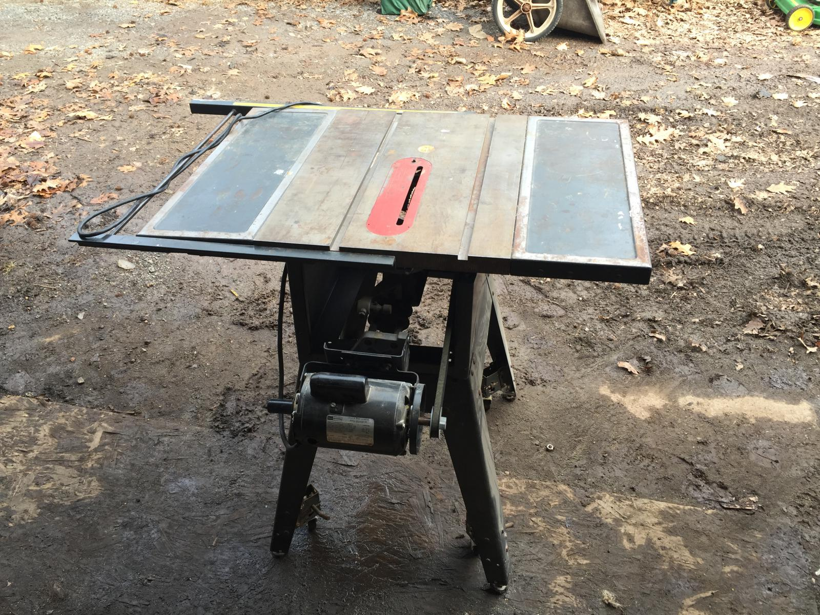 Craftsman table saw 10 inch ebay for 10 inch table saw craftsman