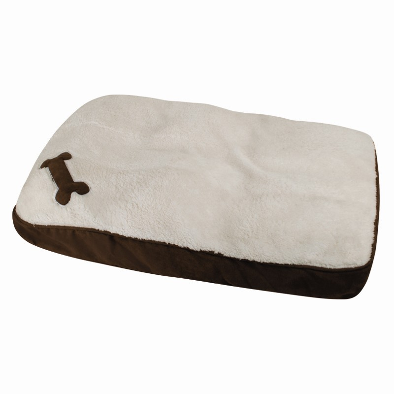 soft memory foam dog bed with removable washable cover. Black Bedroom Furniture Sets. Home Design Ideas