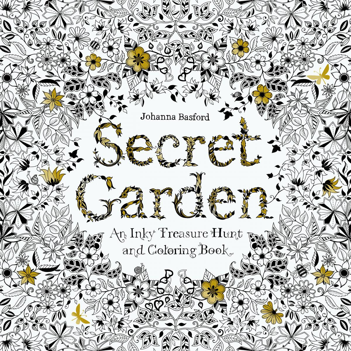 The secret garden coloring book target - Datacaciques