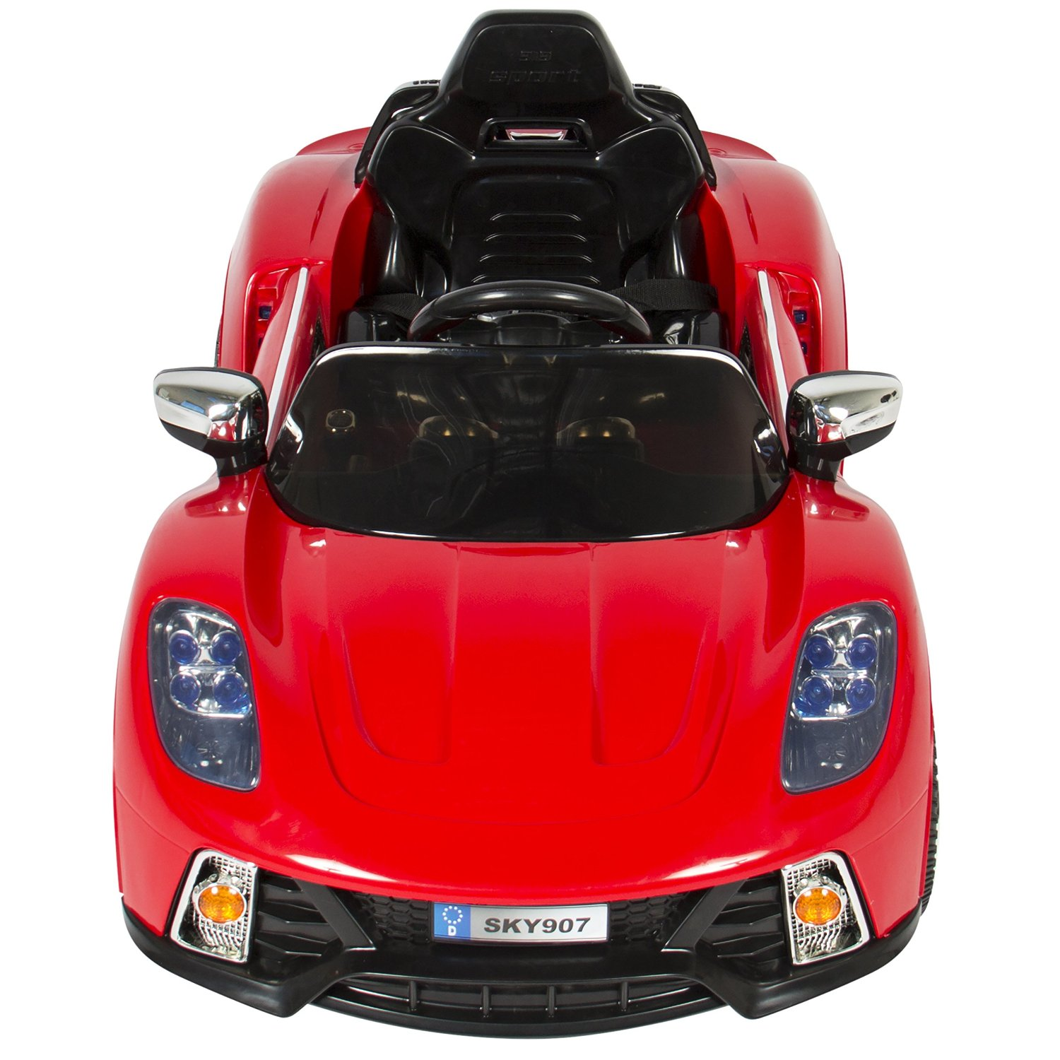 Best Choice Power Wheels 12V Electric Red Sport Car for Kids MP3 RC Seat Belt US  eBay