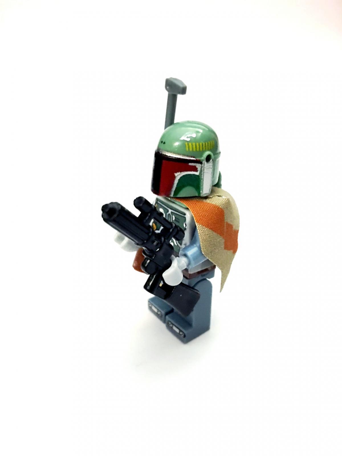 LEGO Star Wars Boba Fett Minifigure Custom Accessories ...