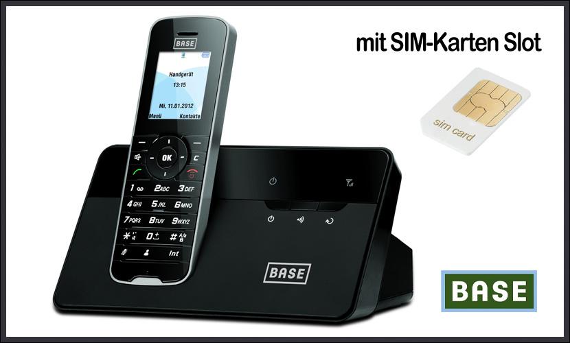 festnetztelefon mit sim karte Festnetz Telefon mit SIM Karte Fest netz für Zuhause NEU ✓ DHL