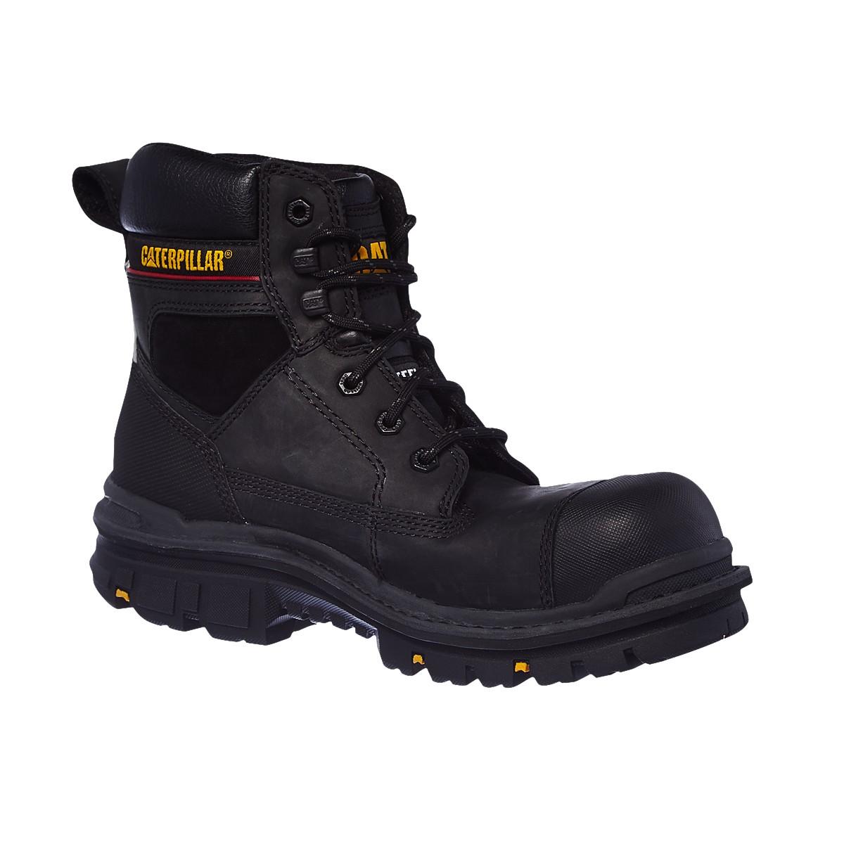 Mens Caterpillar Gravel Steel Toe Cap Safety Boots CAT Heavy Duty