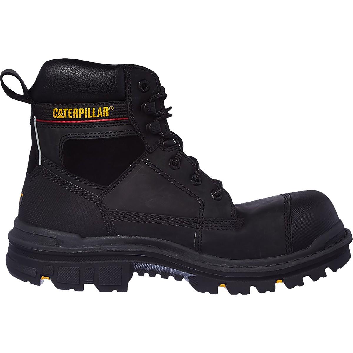 Mens Caterpillar Gravel Steel TOE CAP Safety Boots CAT Heavy Duty Work Boot | EBay