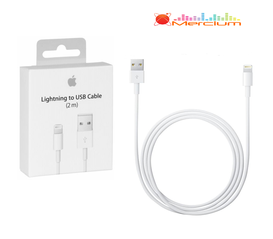 original 2m apple lightning ladekabel usb kabel md819zm a. Black Bedroom Furniture Sets. Home Design Ideas