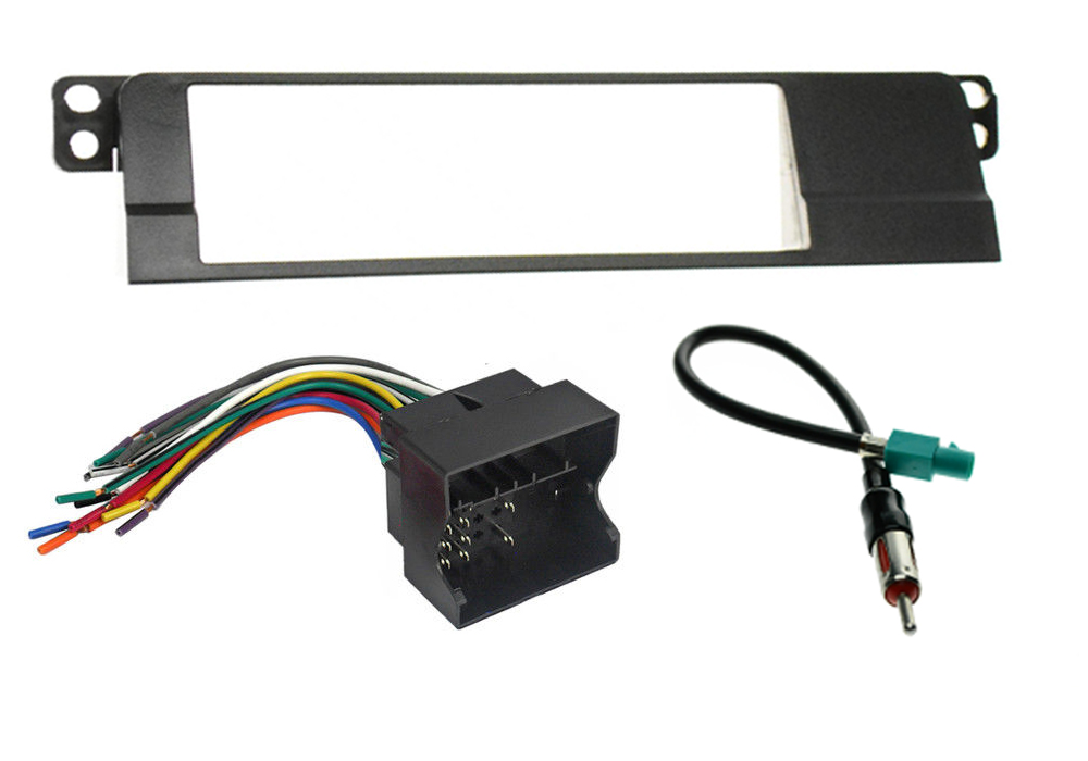 03 08 bmw z4 stereo radio install dash kit wire harness antenna adapter combo ebay