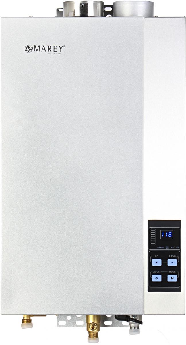 marey tankless hot water heater 4 3 gpm 16l propane gas on demand etl certified ebay. Black Bedroom Furniture Sets. Home Design Ideas