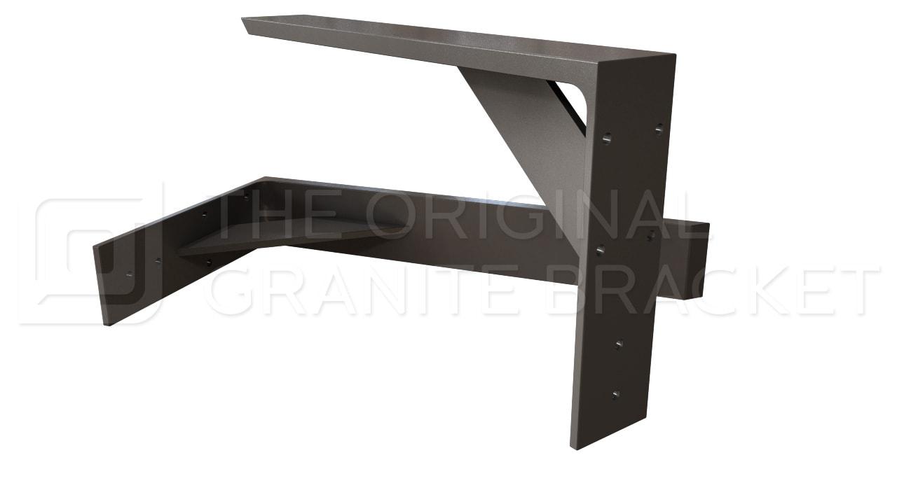 shelf bracket floating shelves steel support bracket for. Black Bedroom Furniture Sets. Home Design Ideas