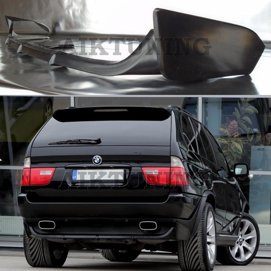bmw e53 x5 rear bumper addon spoiler for all. Black Bedroom Furniture Sets. Home Design Ideas
