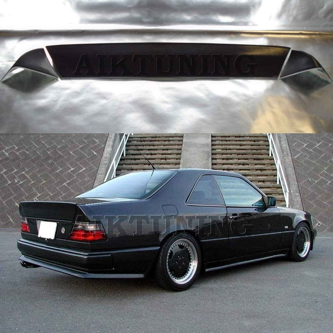mercedes benz w124 amg style full boot tail trunk spoiler 3 piece ducktail coupe ebay. Black Bedroom Furniture Sets. Home Design Ideas