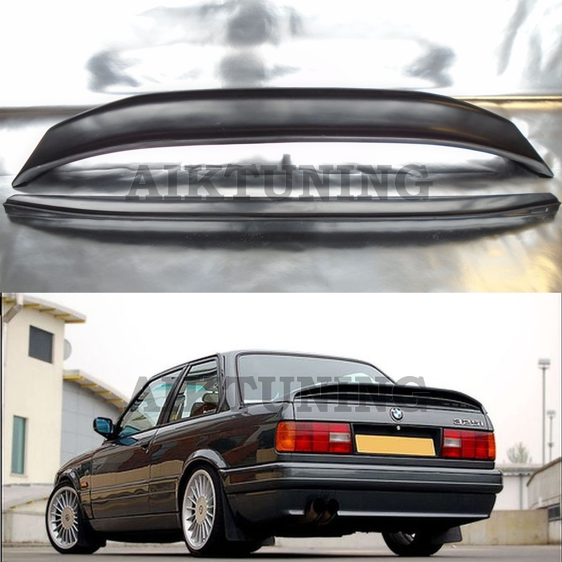 Bmw E30 M3 Engine Number: Bmw E30 Rear M Tech 2 M Technik Style Trunk Spoiler Wing
