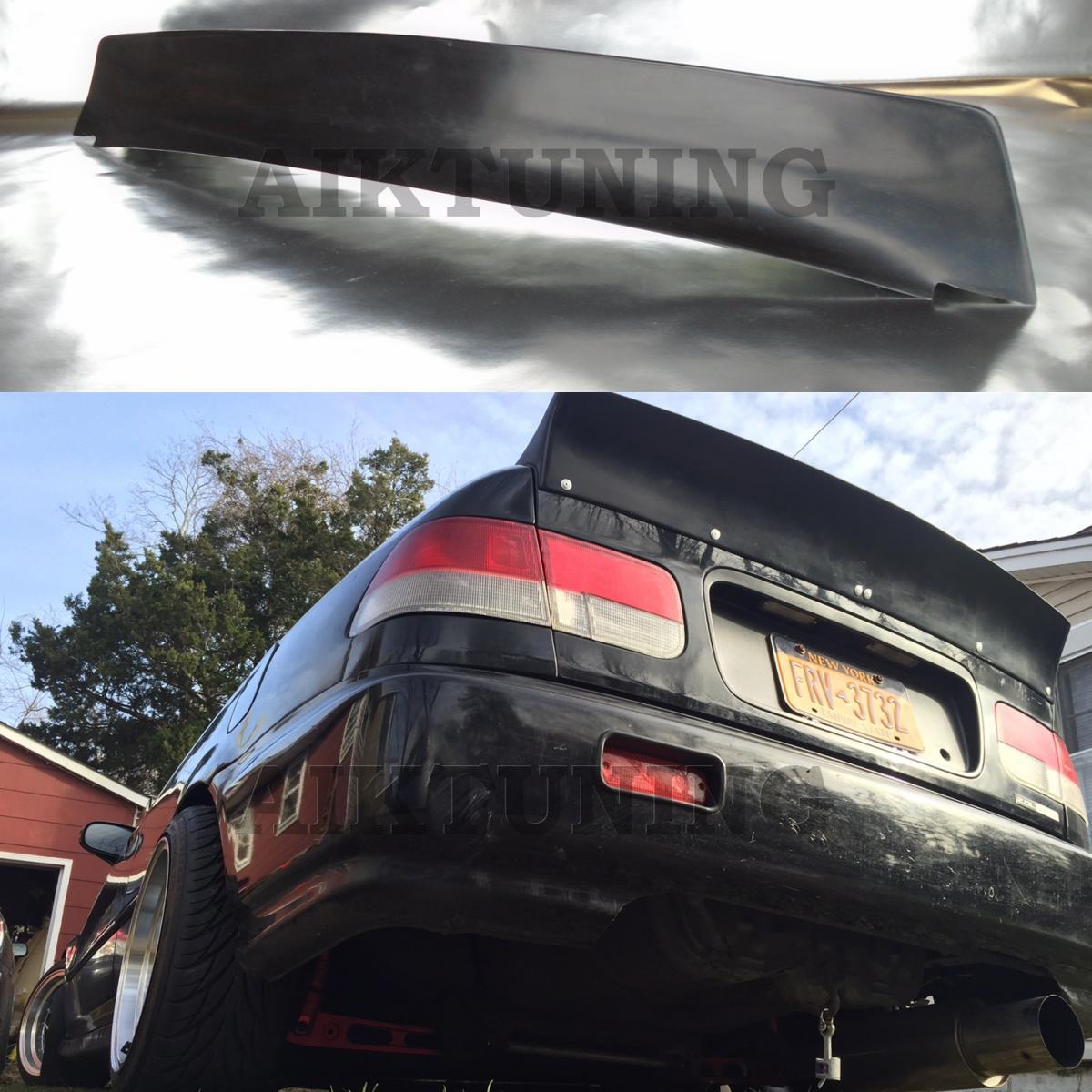 honda civic coupe96 00 rocket bunny style rear trunk. Black Bedroom Furniture Sets. Home Design Ideas