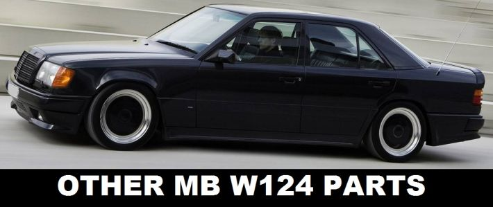 Mercedes-Benz W124 AMG Style Boot Tail Trunk Spoiler Wing