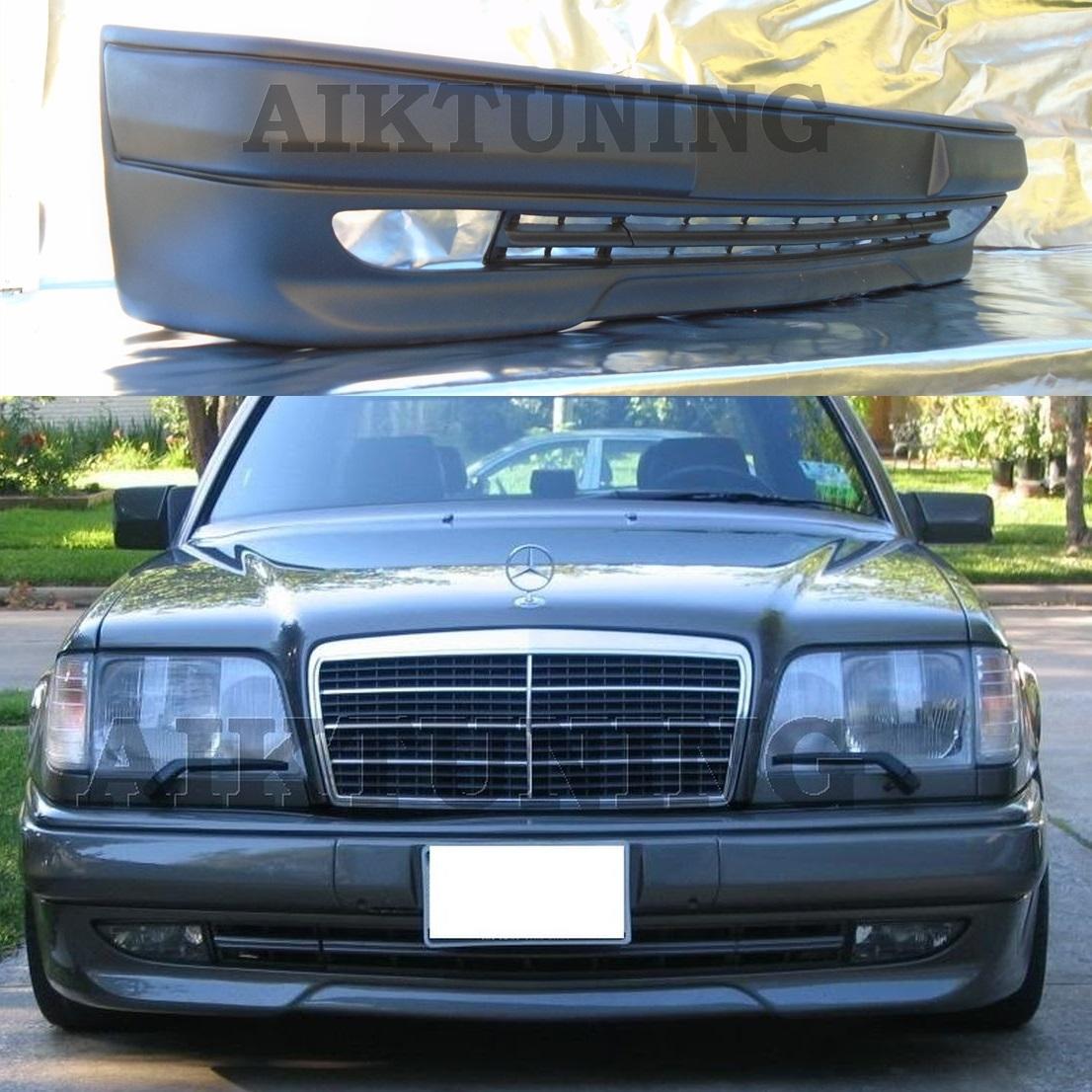 mercedes benz w124 amg 3 style full front bumper spoiler. Black Bedroom Furniture Sets. Home Design Ideas