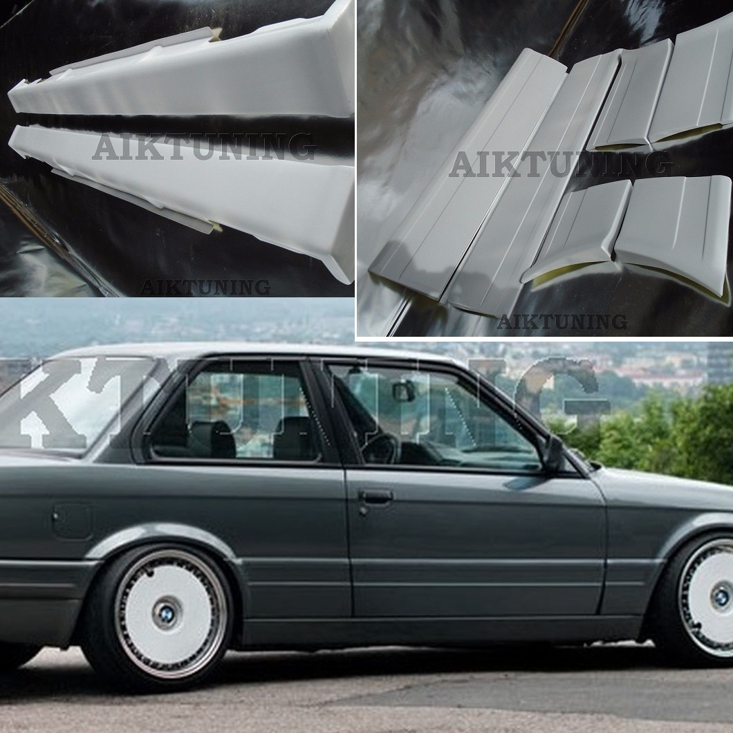 bmw e30 m tech 2 m technik style side skirts and door. Black Bedroom Furniture Sets. Home Design Ideas