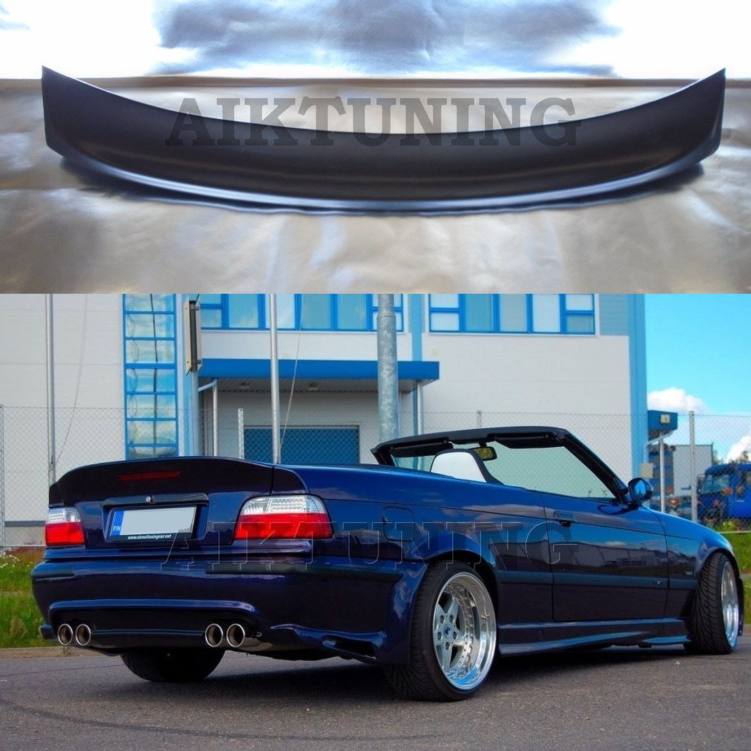 bmw e36 csl style performance rear boot trunk spoiler. Black Bedroom Furniture Sets. Home Design Ideas
