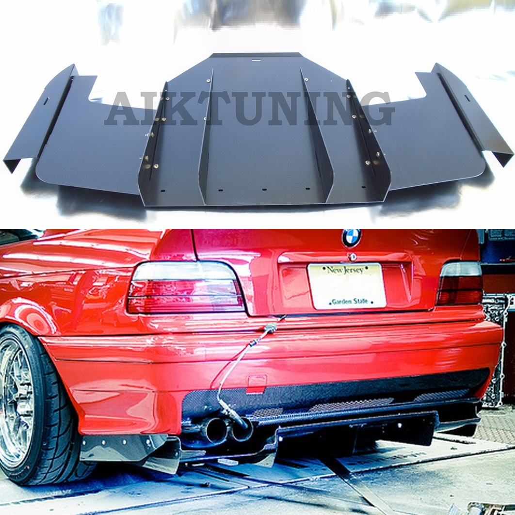 Buy Bmw E36 M3 Rear Bumper Diffuser Performance Cover