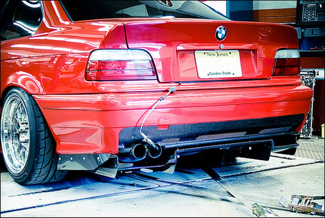 bmw e36 M3 rear bumper diffuser performance cover durable ...