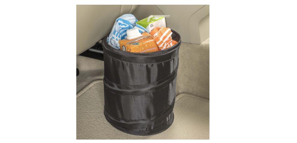 trash pop up car bag high road leak proof compact size can holder garbage caddy ebay. Black Bedroom Furniture Sets. Home Design Ideas