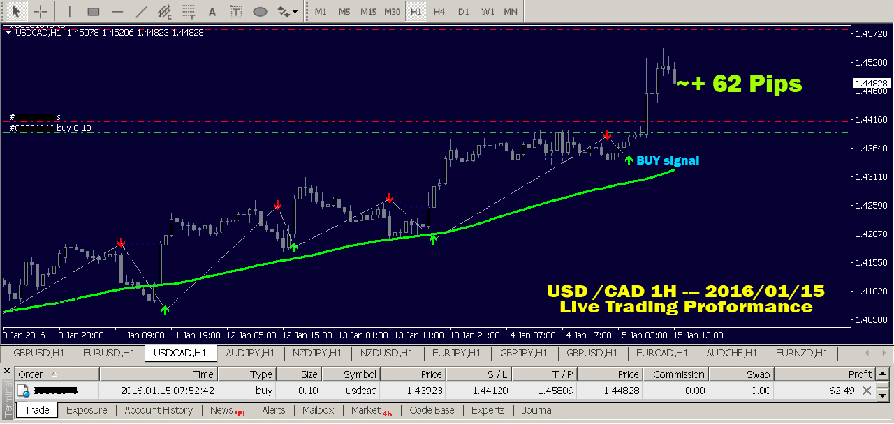 Follow live forex traders