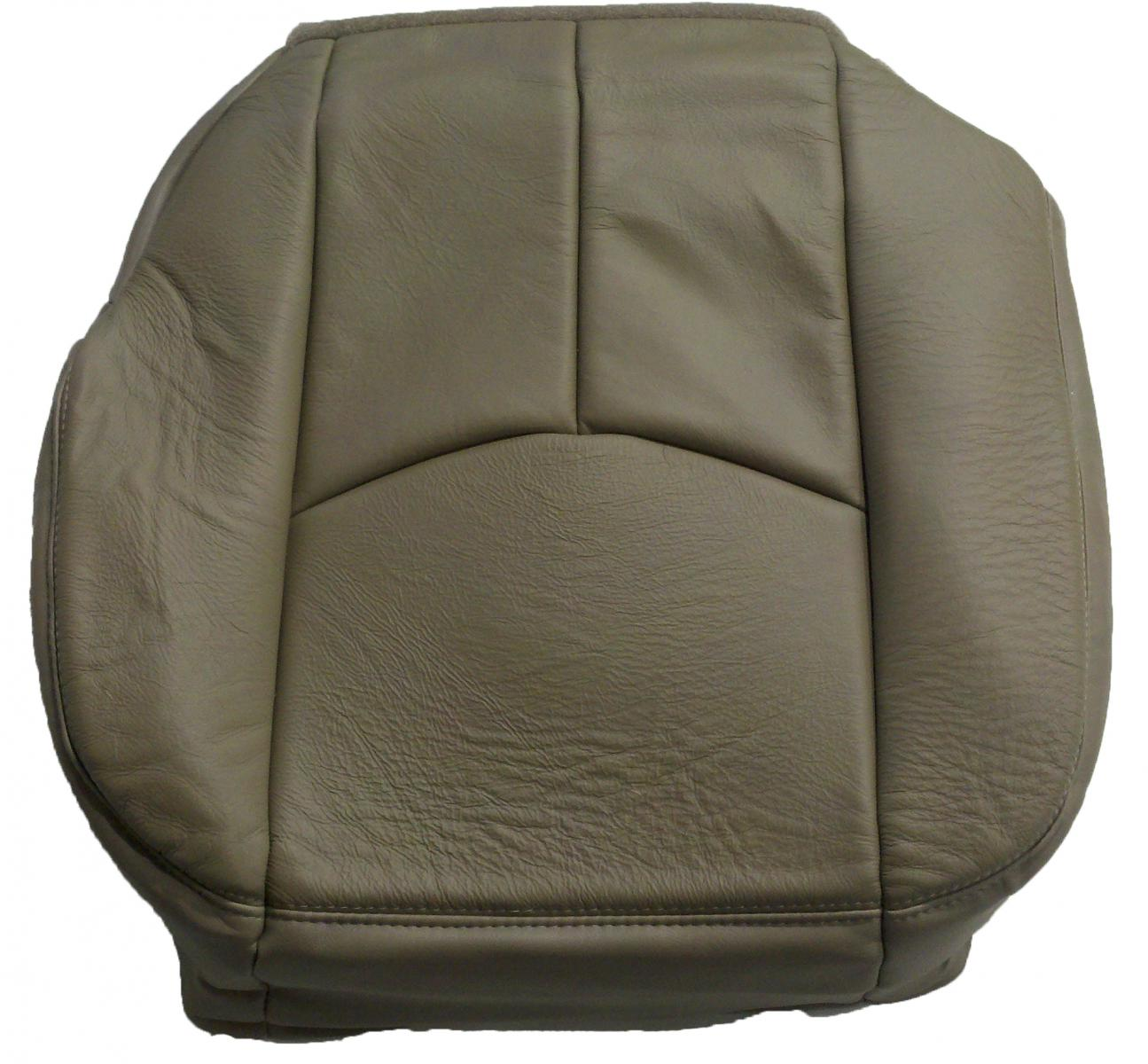 2003 2004 2005 2006 oem suburban silverado 1500 tahoe leather seat cover bottom ebay. Black Bedroom Furniture Sets. Home Design Ideas