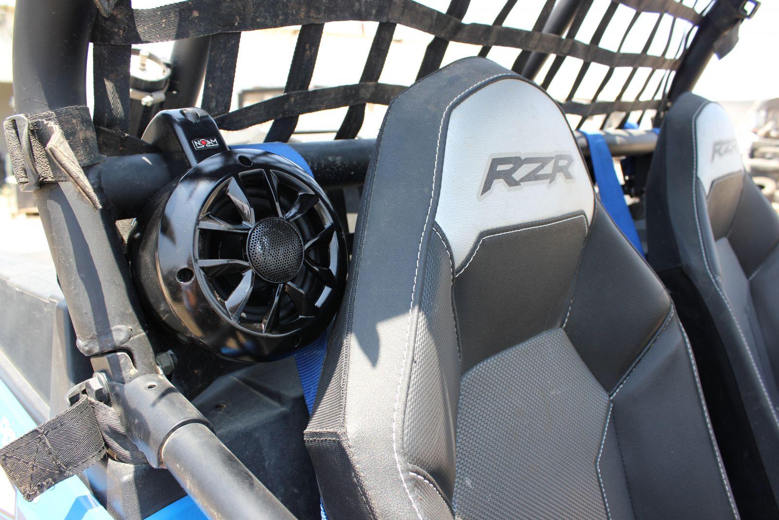 Way waterproof speakers roll bar mount for utv atv golf cart wakeboard