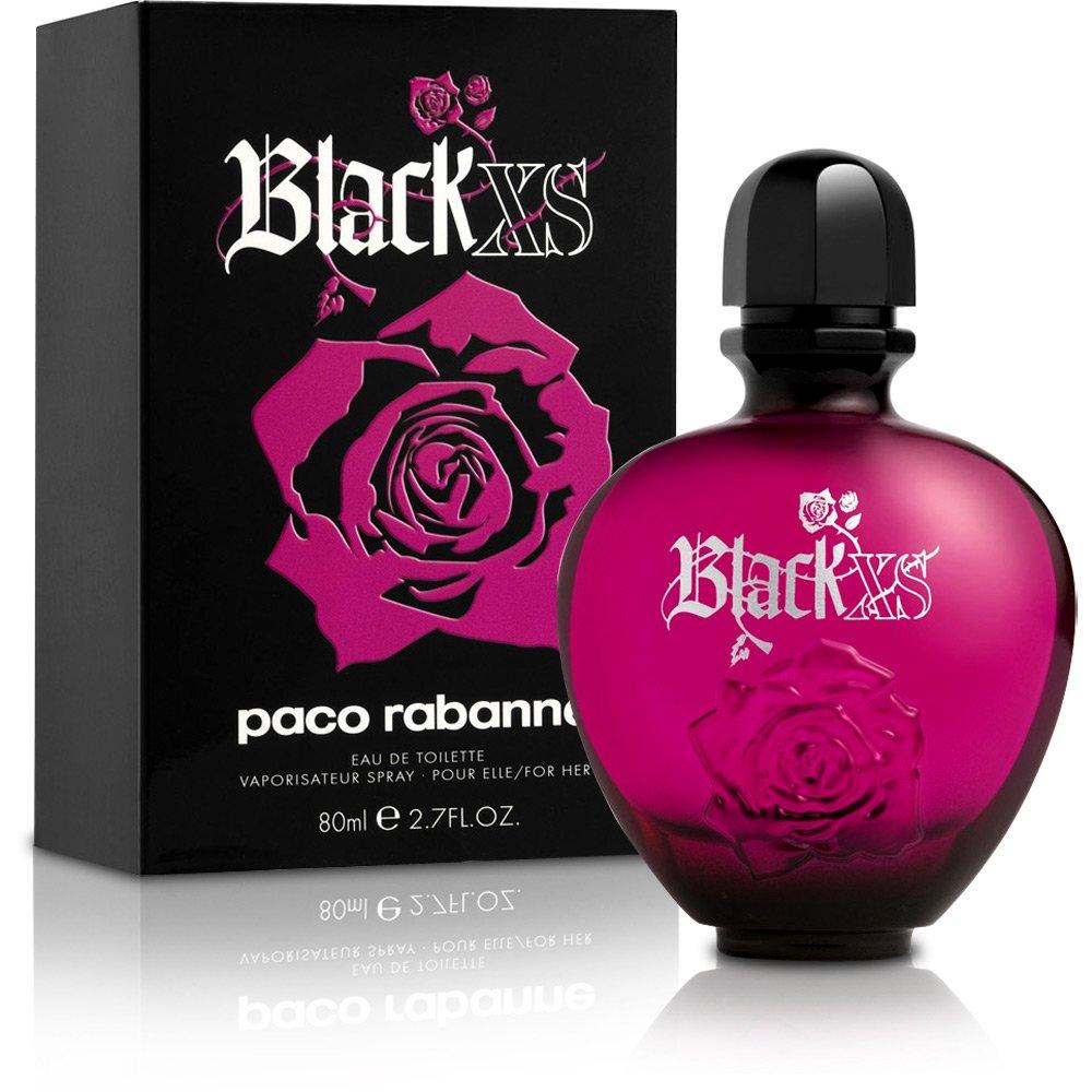 parfum black xs de paco rabanne femme eau de toilette vaporisateur 80 ml. Black Bedroom Furniture Sets. Home Design Ideas