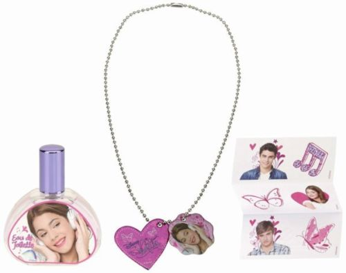coffret violetta disney 30ml edt collier stickers id al cadeau 055979 ebay. Black Bedroom Furniture Sets. Home Design Ideas