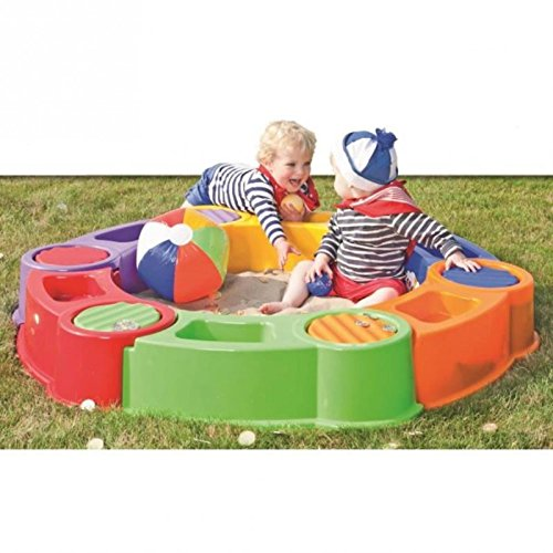 colombus water and sandpit stackable with cover 5425000337218 ebay. Black Bedroom Furniture Sets. Home Design Ideas