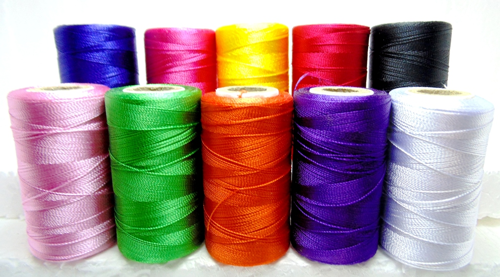 10 Spools Set Sewing Machine Silk Embroidery Threads BROTHER JANOME GUTERMAN