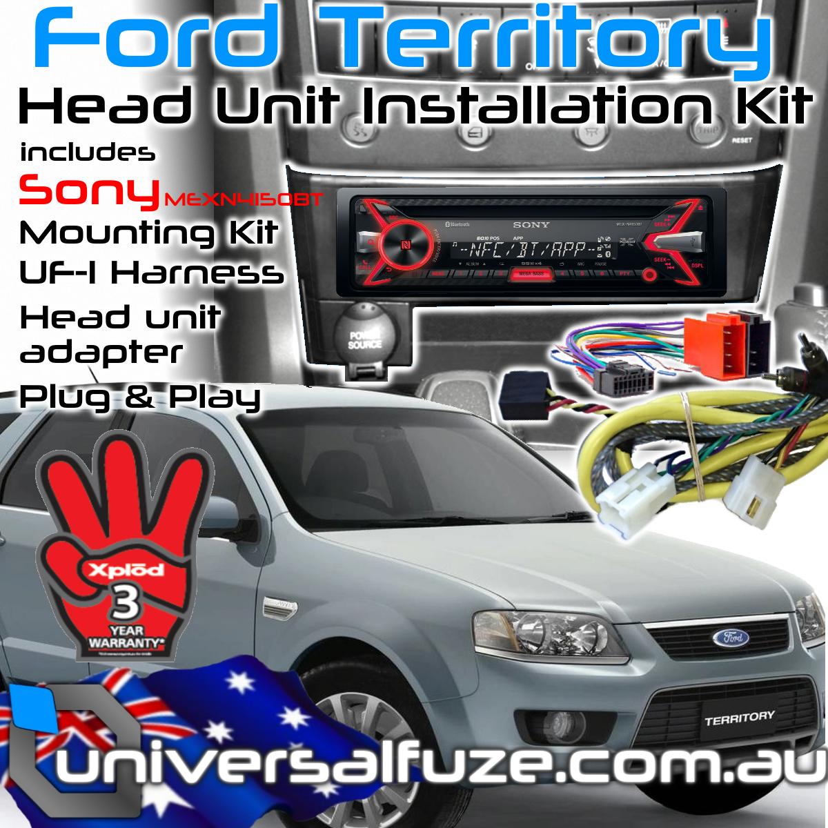 Ford Territory Sony Bluetooth USB Upgrade Kit eBay
