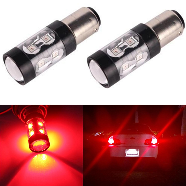 jdm astar 2x 50w super pure red 1157 7528 bay15d brake tail stop led lights bulb ebay. Black Bedroom Furniture Sets. Home Design Ideas