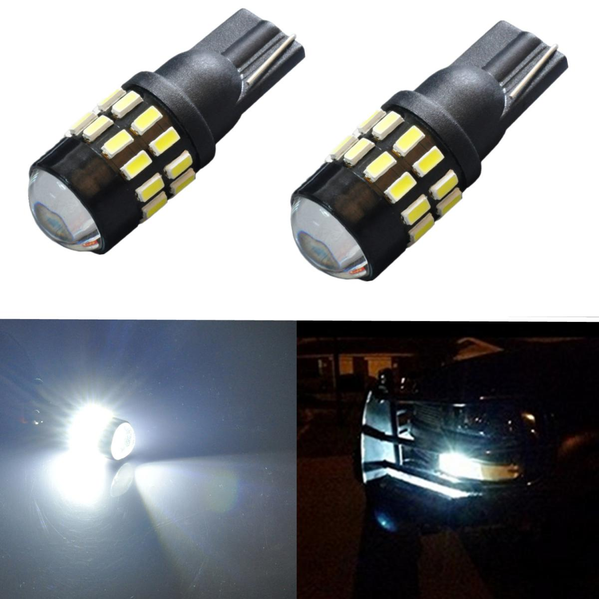 2005 2009 ford mustang 2x hid white 921 led reverse light bulb backup - Jdm Astar 2pcs Super Bright Newest 6000k Xenon White T10 Wedge High Power Ex 30 Smd Led Lights Bulbs For Replacement Interior Map Dome Trunk Glove Box