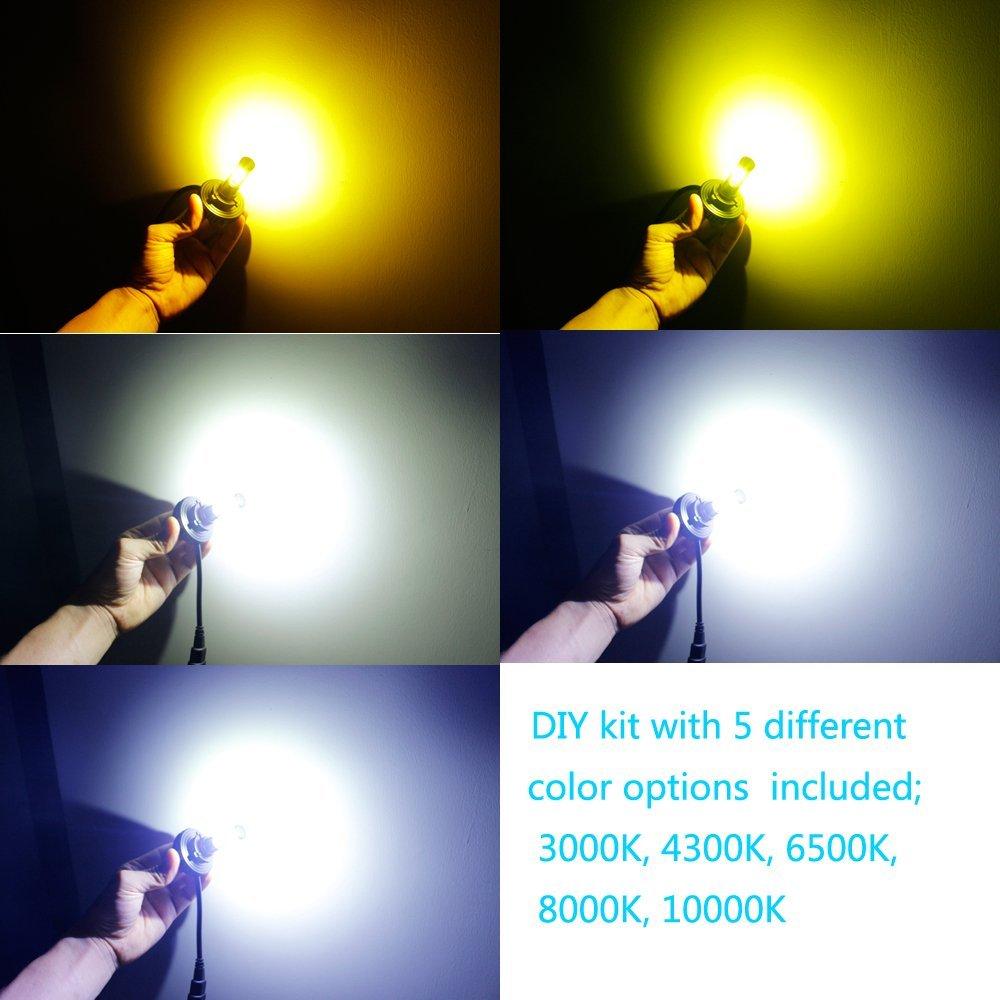 jdm astar 4s h11 h8 h9 cree diy 3000k 6500k 8000k led headlight conversion kits ebay. Black Bedroom Furniture Sets. Home Design Ideas