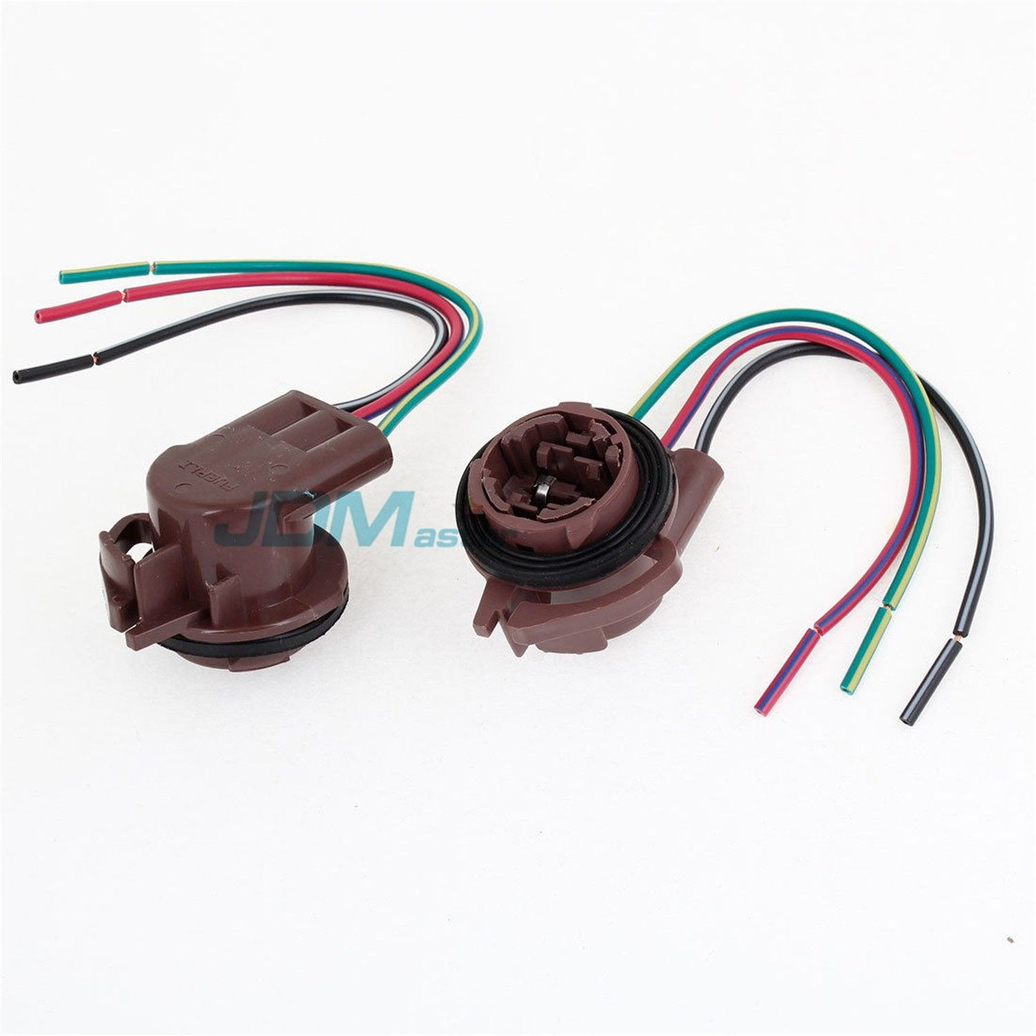 Jdm Astar 3157 4157na Bulb Socket Turn Signal Light Harness Wire 2004 Honda Odyssey Wiring Melted Plug Connectors 750164300279 Ebay