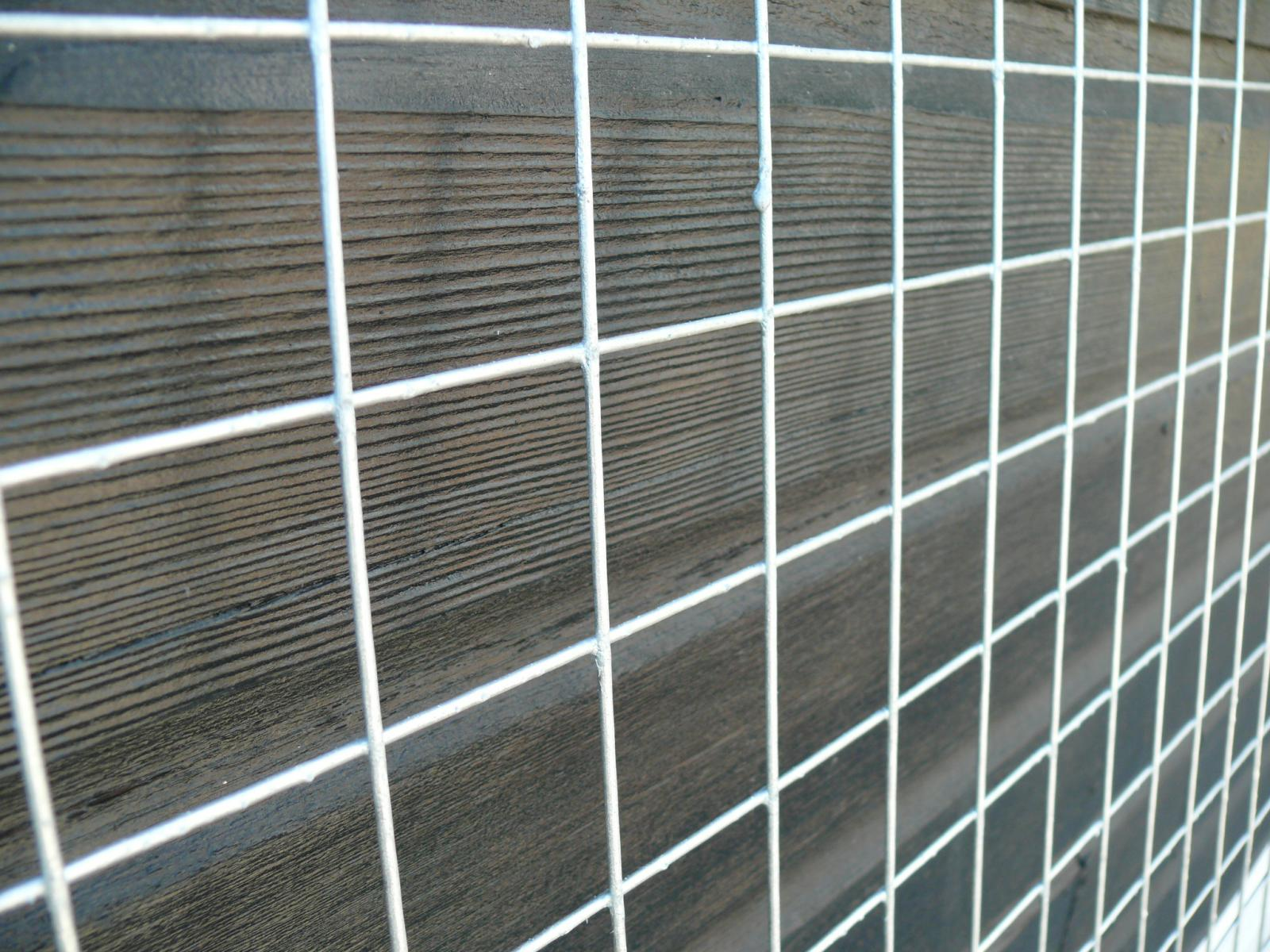 Welded wire mesh panels m galvanised ft